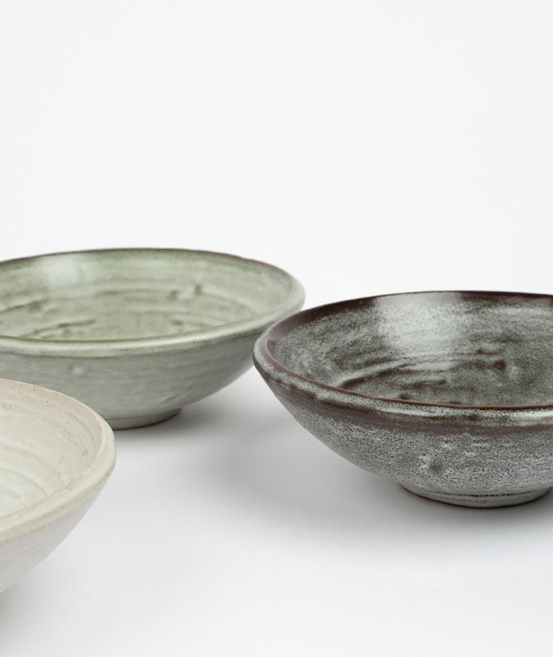 MADAM STOLTZ Stoneware Bowl
