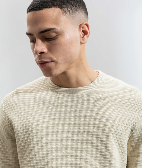 BY GARMENT MAKERS Egon Pullover creme