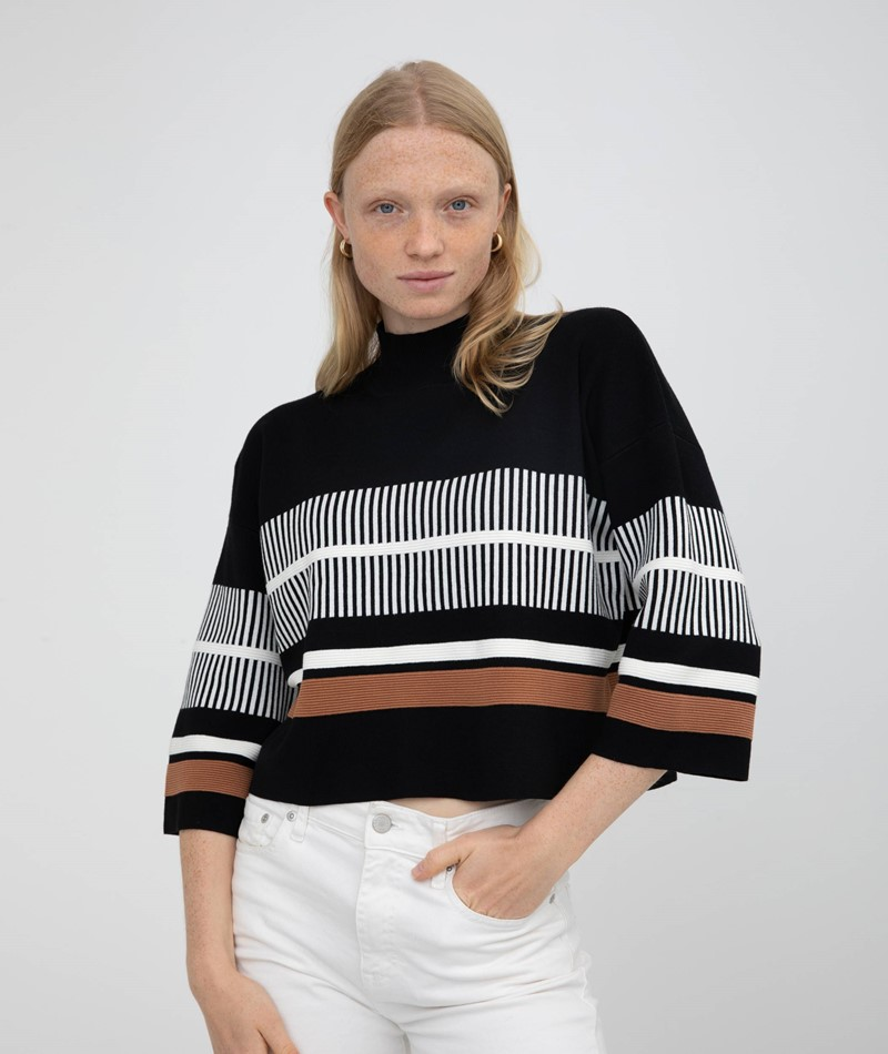 NATIVE YOUTH Noontide Knit Pullover