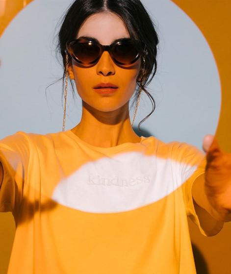KAUF DICH GLÜCKLICH T-Shirt beige