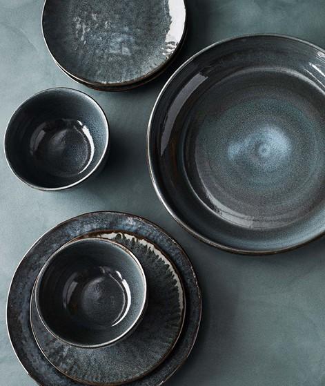 MADAM STOLTZ Stoneware Teller groß