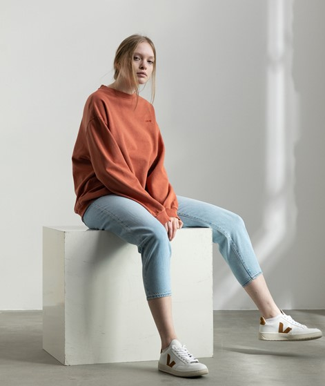 LEVIS Melrose Slouchy Sweater rot