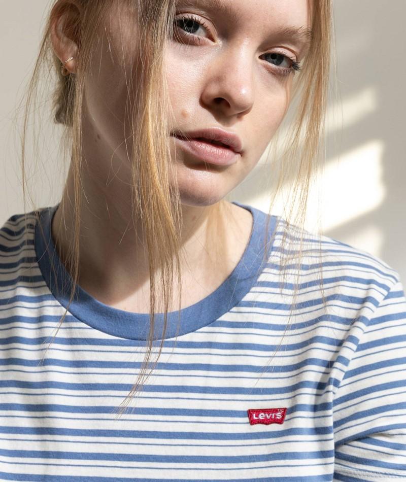 LEVIS Silphium Colony Blue T-Shirt