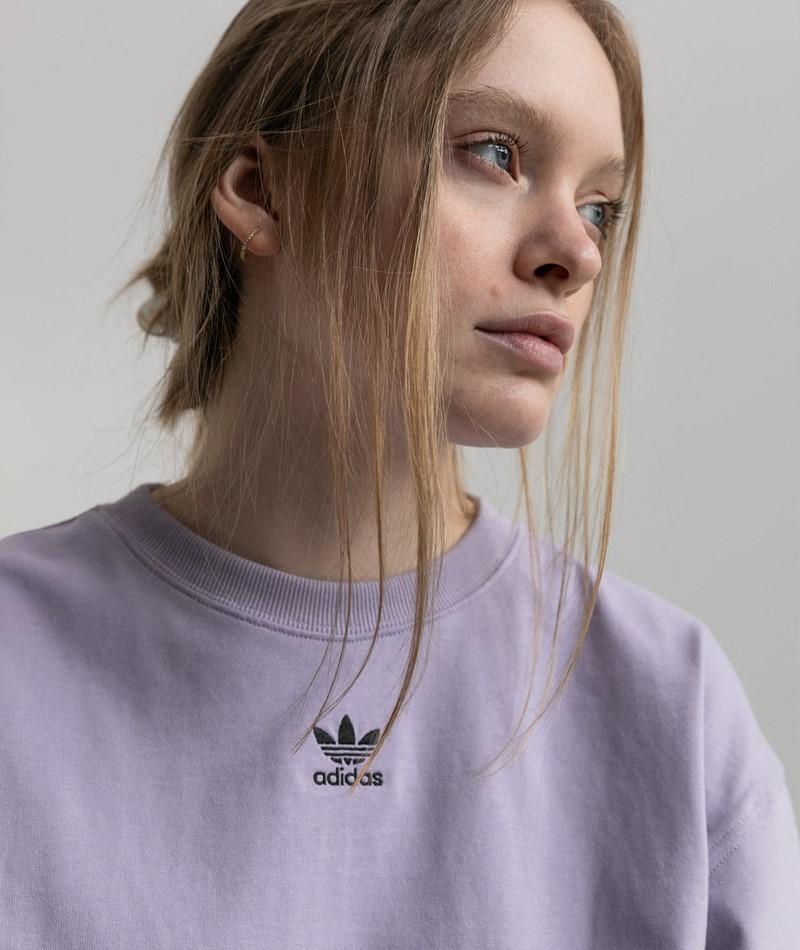 ADIDAS T-Shirt lila