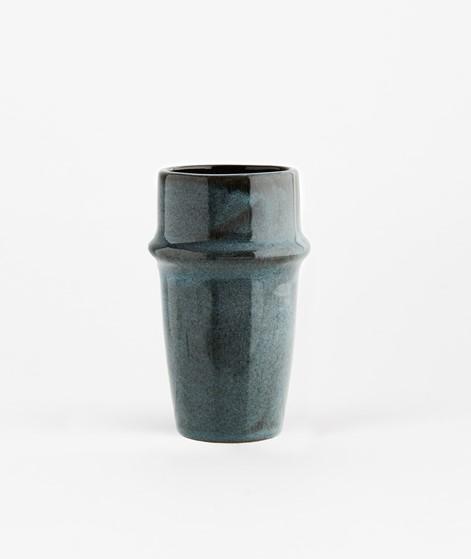 MADAM STOLTZ Stoneware Becher blau