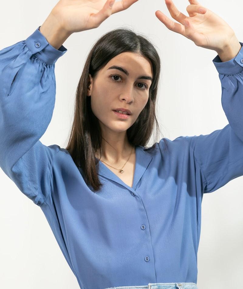 MARIE SIXTINE Pernelle Bluse blau