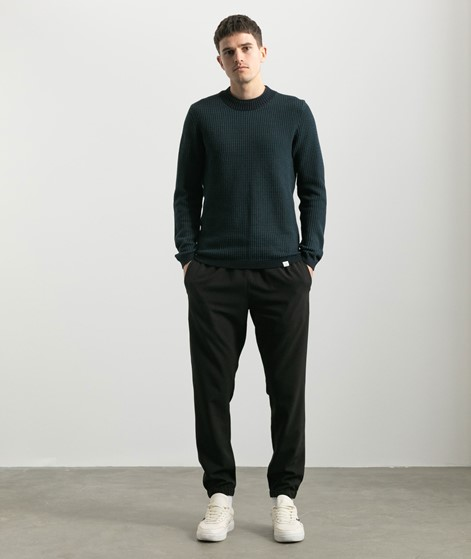 NOWADAYS Two Toned Sweater blau