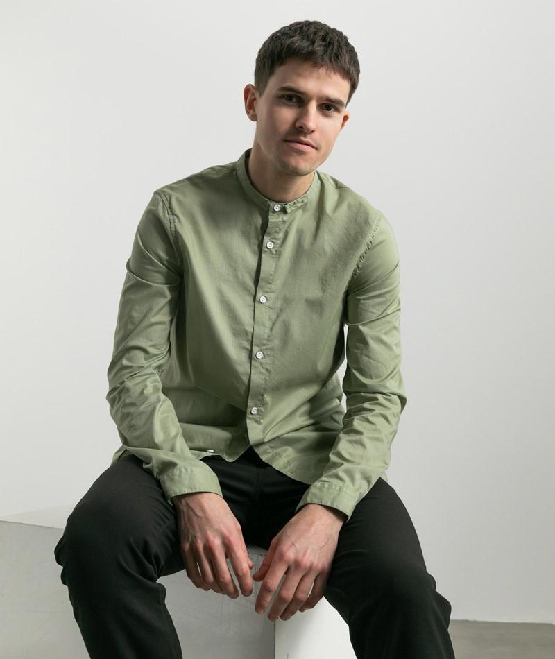 NOWADAYS Ripstop Hemd grün