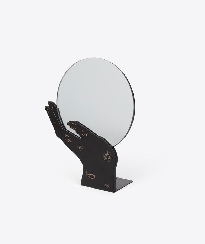 DOIY Psychic Spiegel schwarz