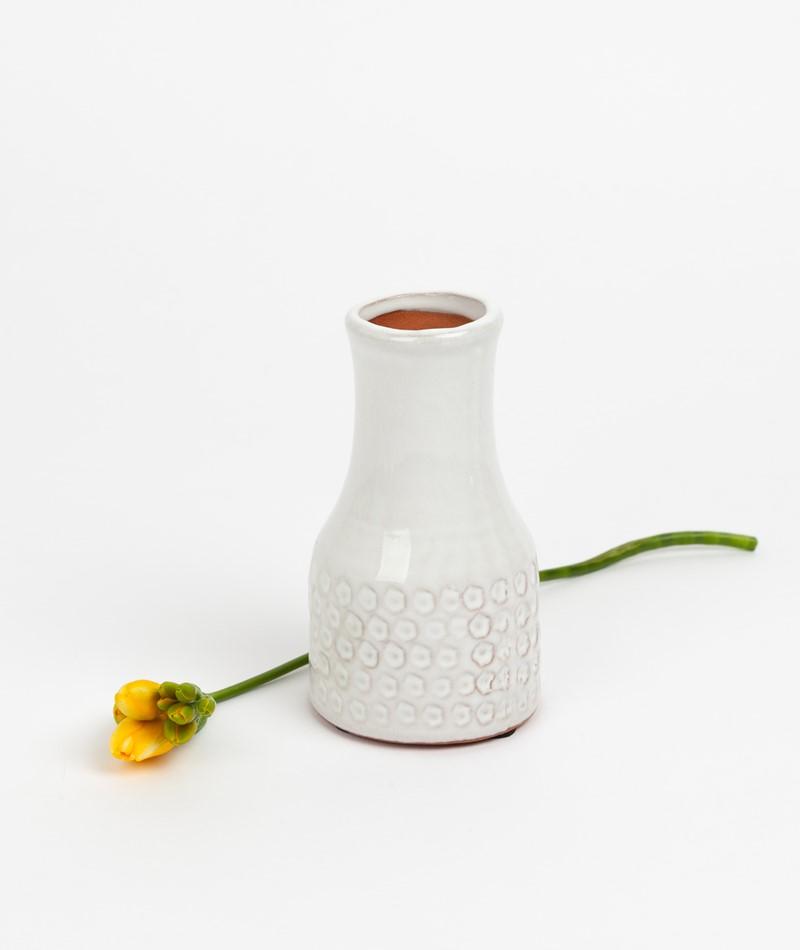 BLOOMINGVILLE Deco Vase weiß