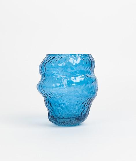 HÜBSCH Vase blau