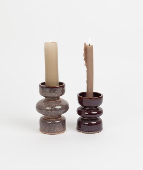 HÜBSCH Kerzenständer lila
