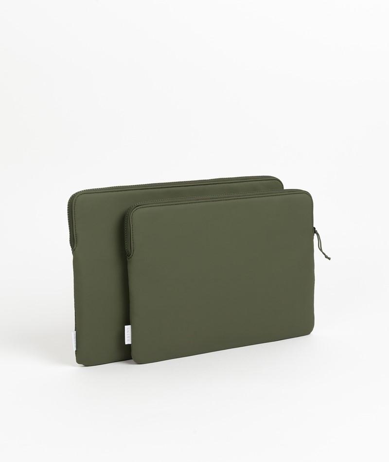 RAINS Laptop Cover grün