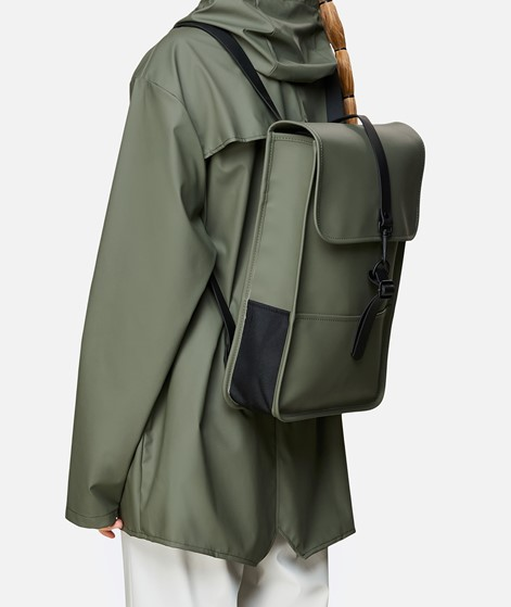 RAINS Backpack Mini Rucksack grün