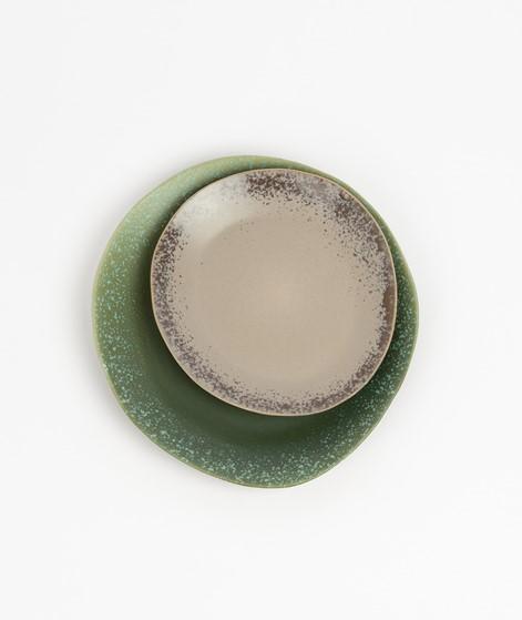 HKLIVING 70`s Side Plate gemustert