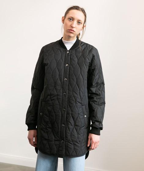 GLOBAL FUNK Even Mantel schwarz