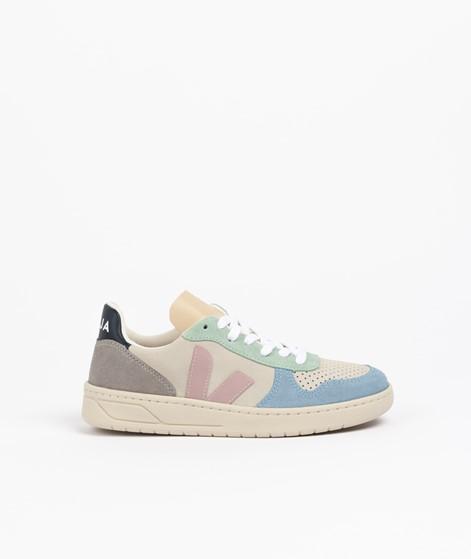 VEJA V 10 Sneaker weiß rosa