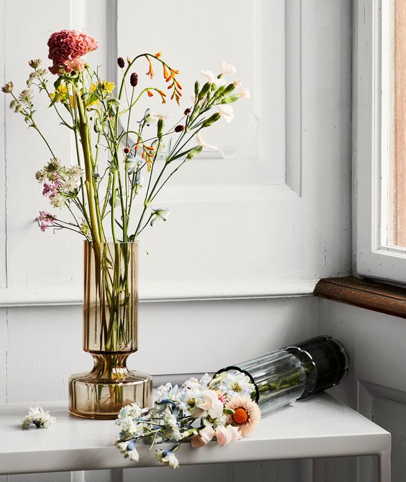 BROSTE Hyacint Vase braun