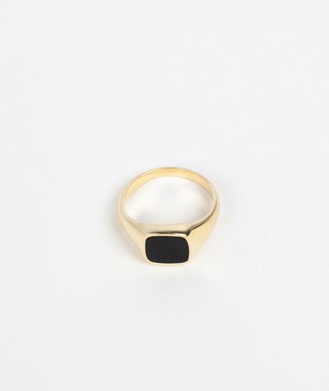 FLAWED Black Dahlia Ring gold