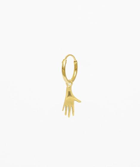 FLAWED Modern Hand Hoop gold