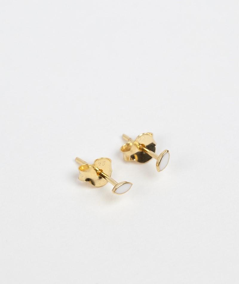 FLAWED Ivory Eye Ohrringe gold