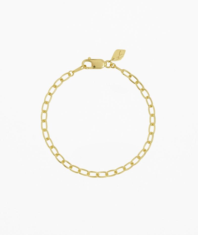 FLAWED Oval Eye Armband gold