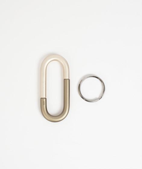 HAY Cane Key Ring khaki/ beige