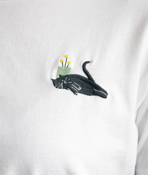 KAUF DICH GLÜCKLICH T-Shirt weiß