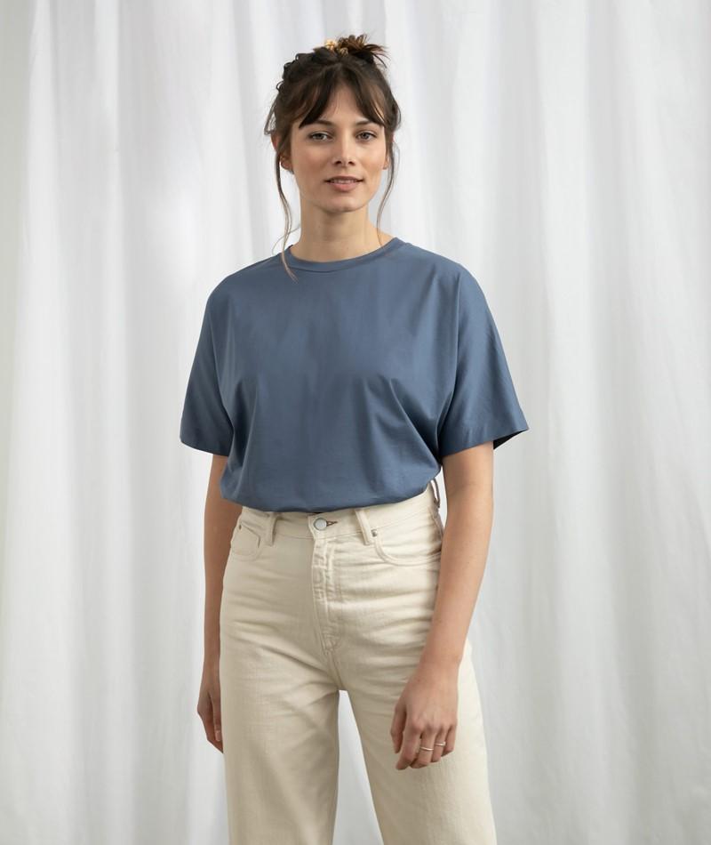 ARMEDANGELS Kajaa T-Shirt blau