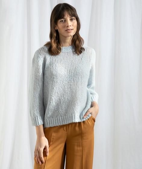 SELECTED FEMME SLFHarvest Pullover blau