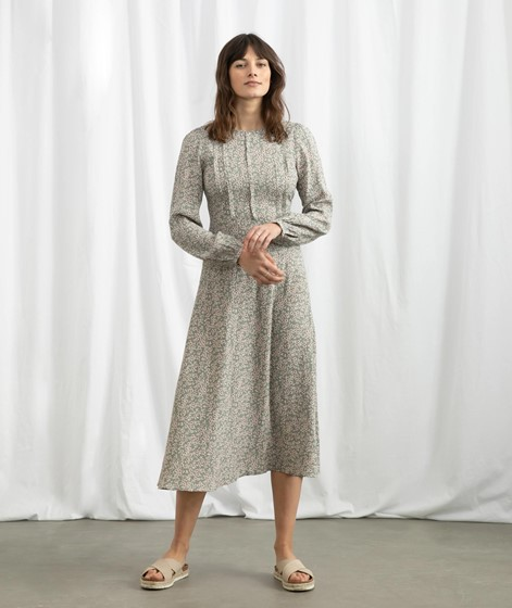 YAS YASLicura Midi Kleid gemustert