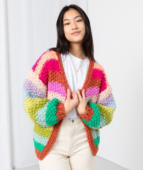 FRNCH PARIS Lobelia Cardigan multi