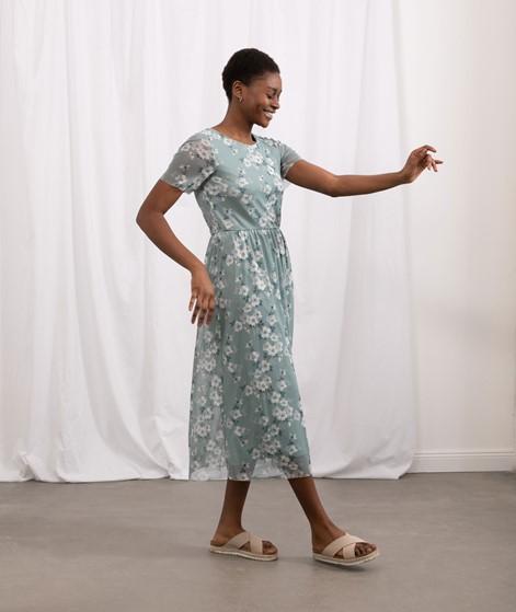 VILA VIMiranda Midi Kleid gemustert