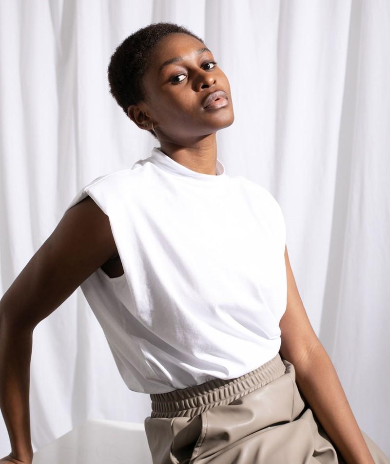 SELECTED FEMME SLFLeanne T-Shirt weiß