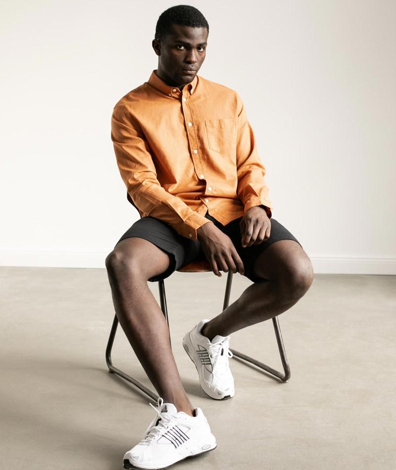SAMSOE SAMSOE Liam BA Hemd orange