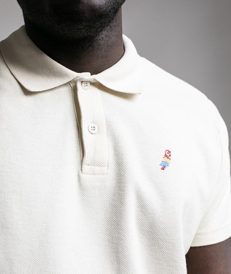 REVOLUTION Polo T-Shirt creme