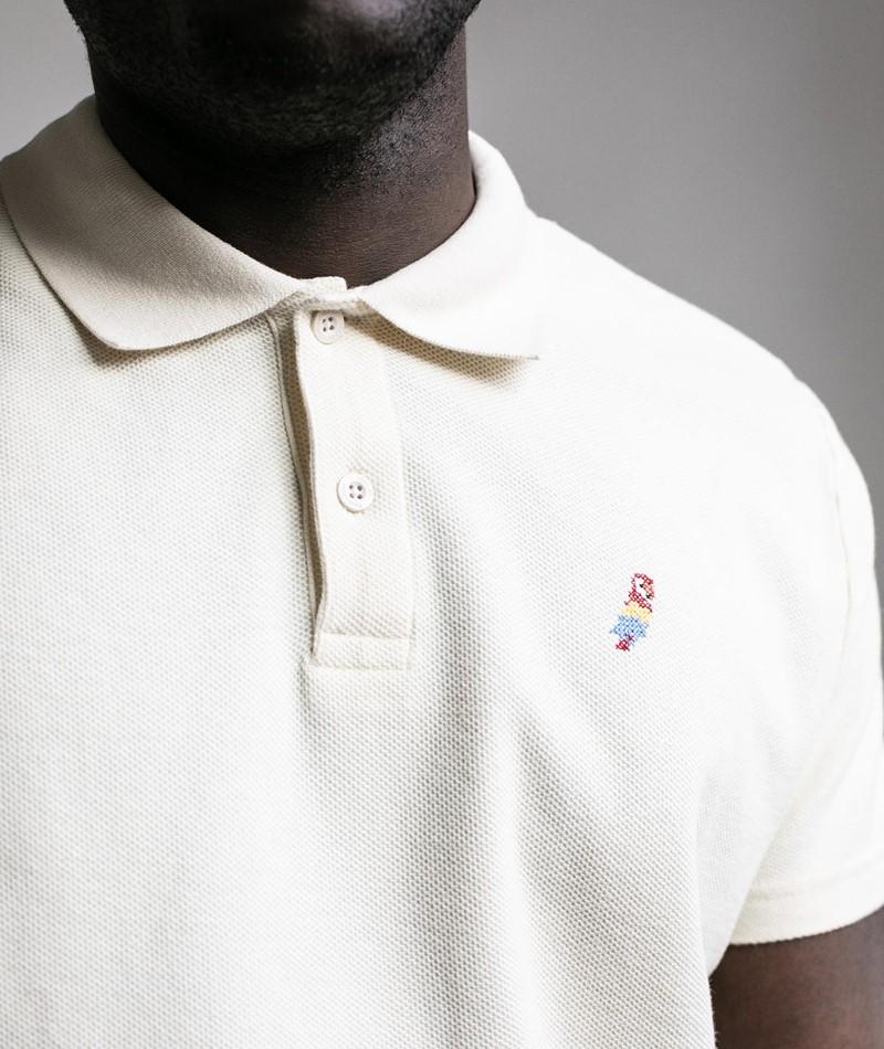 REVOLUTION Polo T-Shirt creme