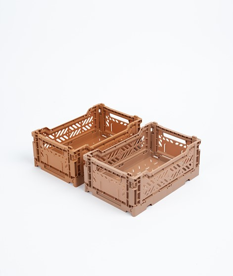 HAY Colour Crate/ S Korb tan