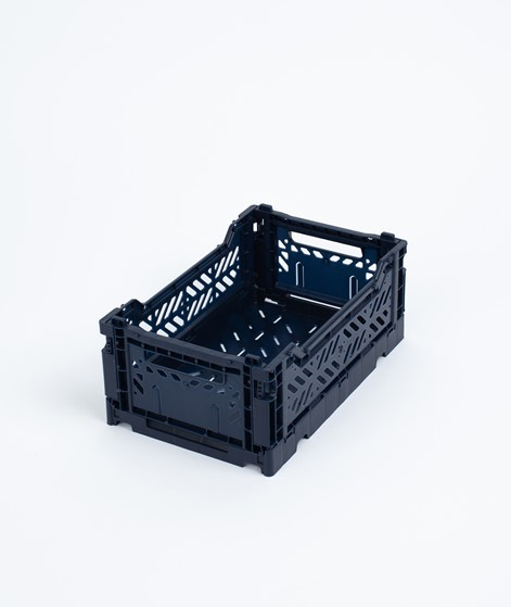 HAY Colour Crate/ S Korb navy