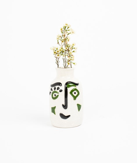 MADAM STOLTZ Stoneware Face Vase