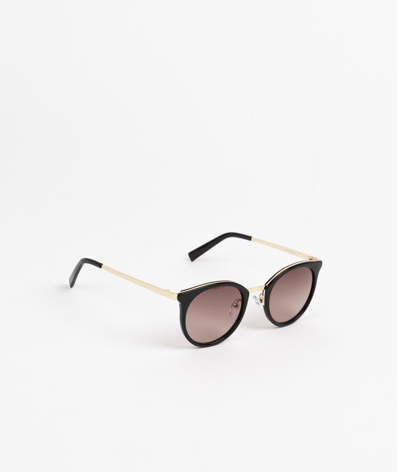 LE SPECS No Lurking Sonnenbrille schwarz
