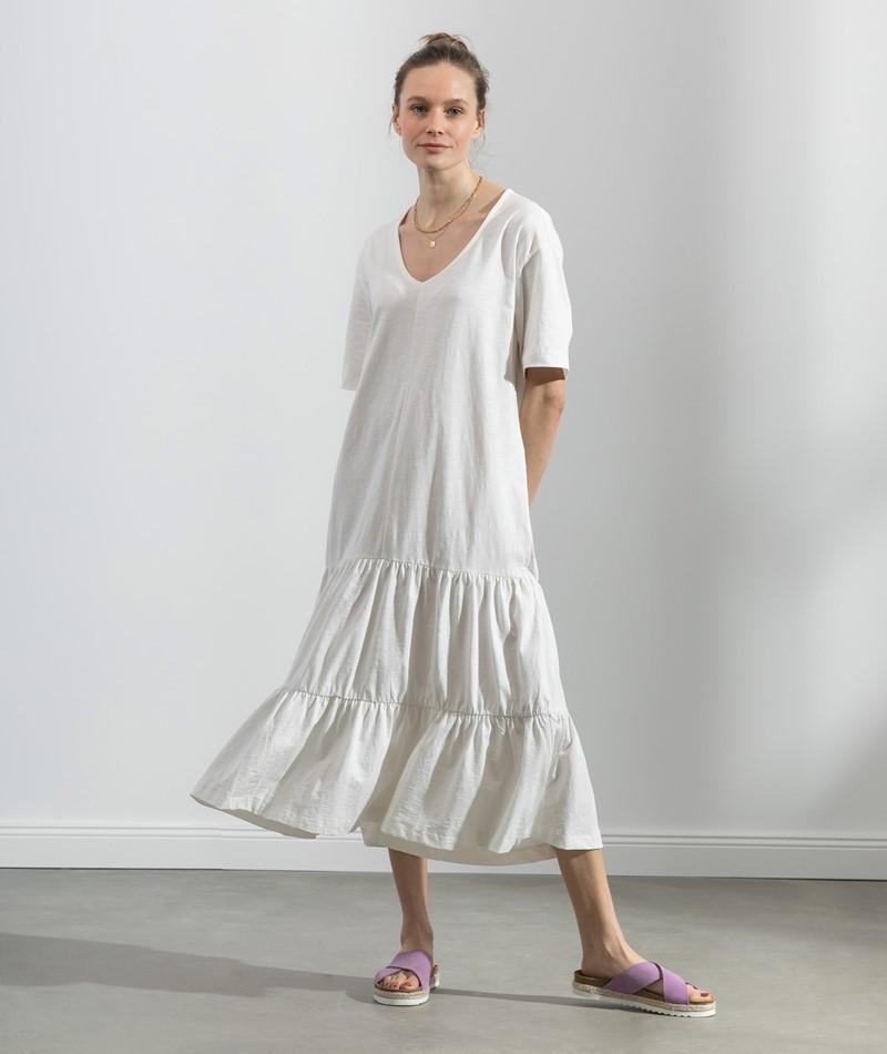 SELECTED FEMME SLFReed 2/4 Midi Kleid