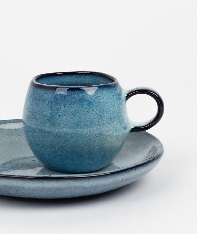 BLOOMINGVILLE Sandrine Espresso Cup blau