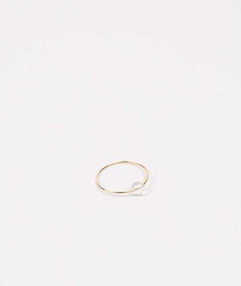 JUKSEREI Birthstone Ring April gold