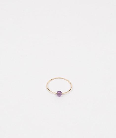 JUKSEREI Birthstone Ring Februar gold
