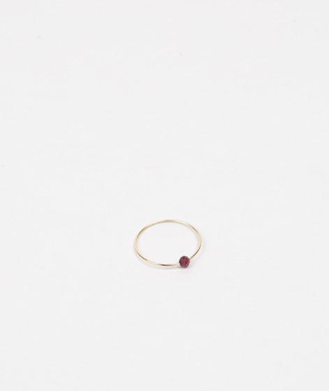 JUKSEREI Birthstone Ring Januar gold