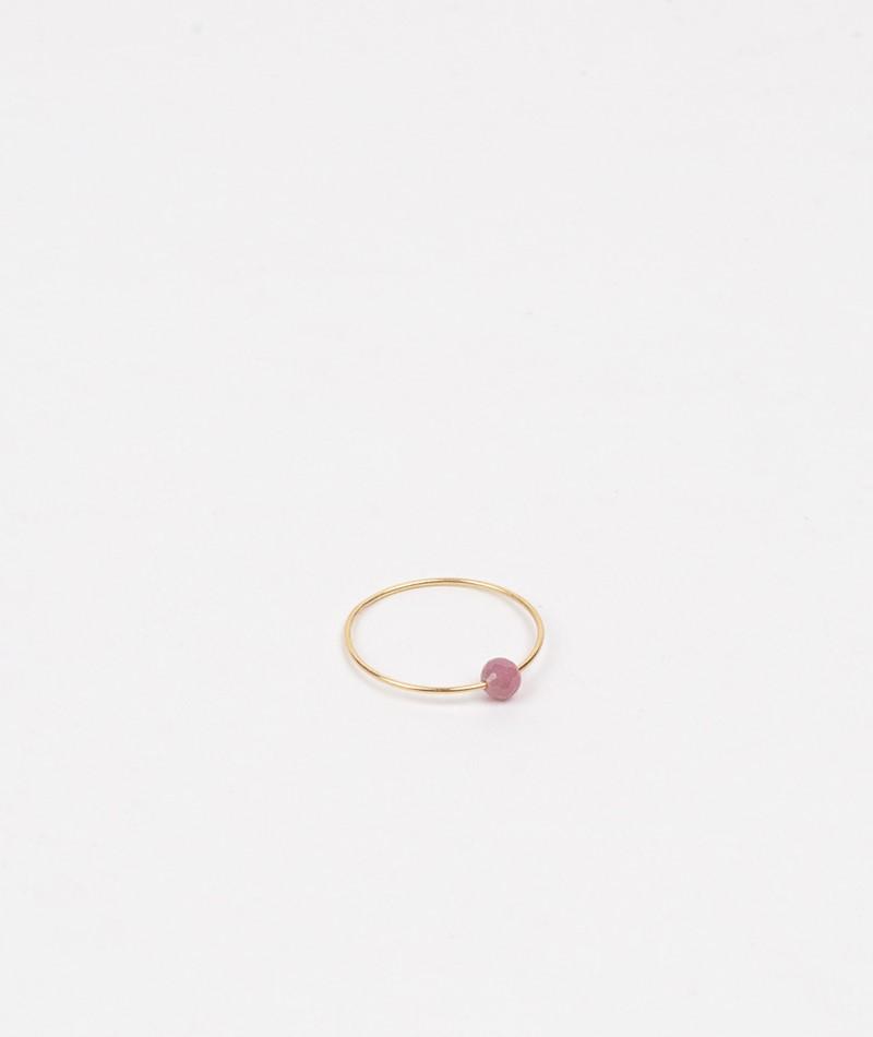 JUKSEREI Birthstone Ring Juli gold