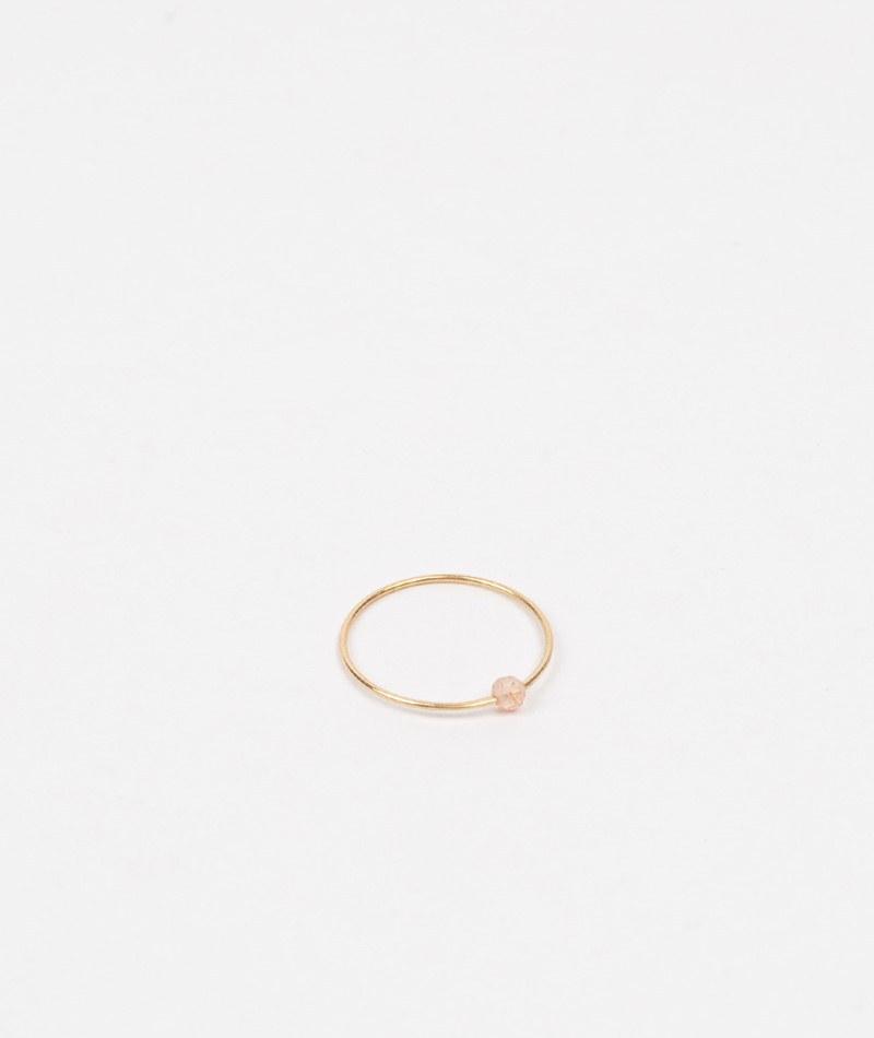 JUKSEREI Birthstone Ring Juni gold
