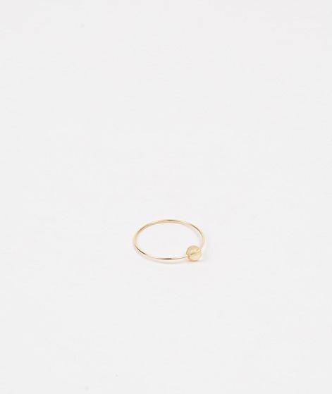 JUKSEREI Birthstone Ring November gold