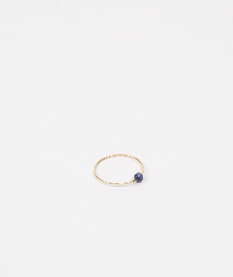 JUKSEREI Birthstone Ring September gold